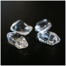 Dekoratyviniai akmenys KRATKI FIRE GLASS skaidrus kristalas
