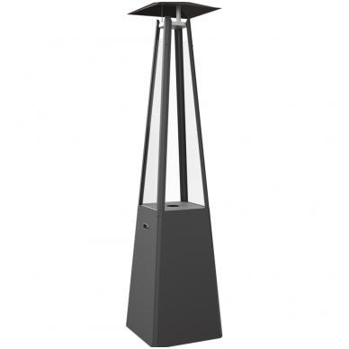 Dujinis lauko židinys KRATKI Umbrella juodas