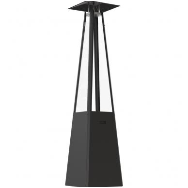 Dujinis lauko židinys KRATKI Umbrella juodas 3