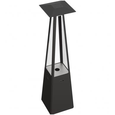 Dujinis lauko židinys KRATKI Umbrella juodas 4